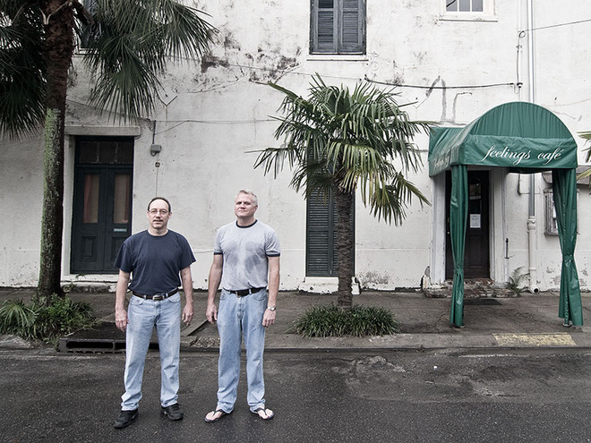 Dale de Bruyn and Jim Baird - Marigny